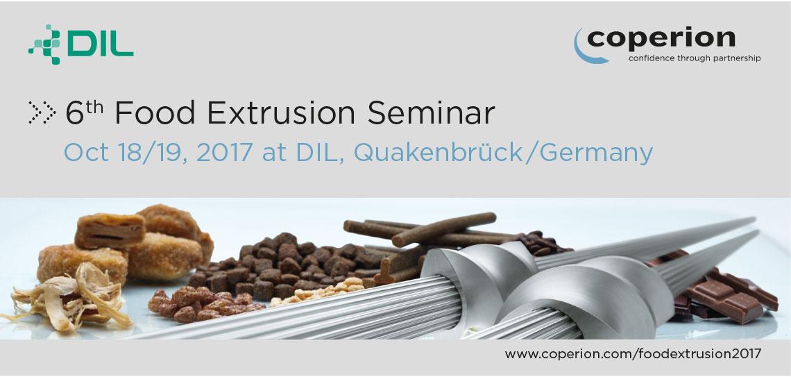 Food Extrusion Seminar 2017